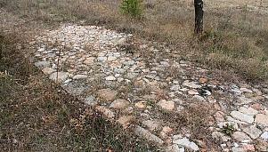 Останки от римски път Виа Диагоналис