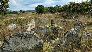Тракийски долмен, с. Железино