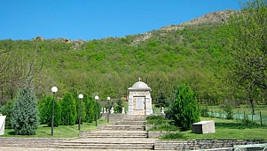 "Thracian memorial complex. Chapel of Saint Petka of Bulgaria. Monument-symbol ""Thrace without Borders"""